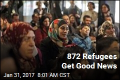 Waivers Issued for 872 Refugees