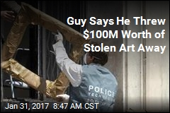 Co-Defendant in $100M Heist: I Threw Paintings Away
