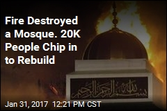 Thousands Donate $970K to Texas Mosque Burned in Fire