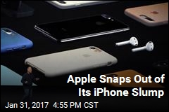 Apple Snaps Out of Its iPhone Slump