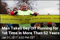 78-Year-Old Ran Every Day for More Than 52 Years
