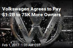 Volkswagen Agrees to Pay $1.2B to Big-Diesel Owners