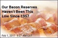 Bacon Reserves Are at a 50-Year Low