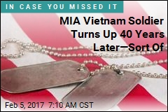 MIA Vietnam Soldier Turns Up 40 Years Later—Sort Of