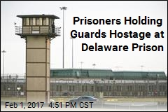 Prisoners Holding Guards Hostage at Delaware Prison