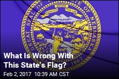 Nebraska Flag Flies Upside Down, Nobody Notices