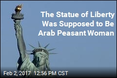 The Statue of Liberty Was Supposed to Be Arab Peasant Woman