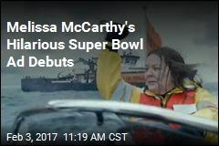 Melissa McCarthy's Hilarious Super Bowl Ad Debuts