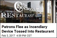 Man Throws Incendiary Device Into Busy Cheesecake Factory