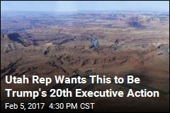 Utah Rep Wants This to Be Trump's 20th Executive Action