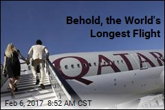 Behold, the World's Longest Flight