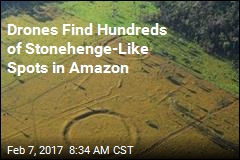 Drones Find Hundreds of Stonehenge-Like Spots in Amazon