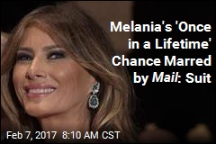 Melania Suit: Mail Story Ruined Her Chance to Make Millions