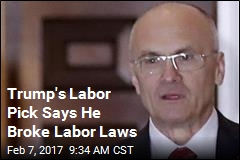 Labor Secretary Nominee Hired Illegal Maid