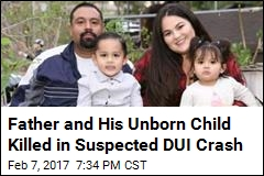 Father and His Unborn Child Killed in Suspected DUI Crash