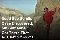 Looted Dead Sea Scrolls Cave Uncovered