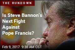 Is Steve Bannon's Next Fight Against Pope Francis?