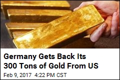 Germany Gets Back Gold US Has Held Since Cold War
