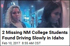 2 Missing NM College Students Found Driving Slowly in Idaho
