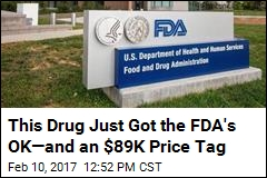 Drug for Rare Disease Gets FDA OK, but It's Not Cheap