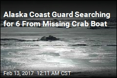 Crab Boat With 6 Aboard Missing in Bering Sea