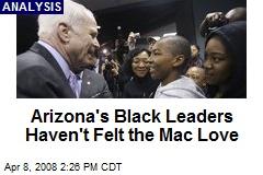 Arizona's Black Leaders Haven't Felt the Mac Love