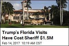 Cost of Trump's Florida Visits in Police Overtime: $1.5M