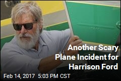 Harrison Ford Involved in Another Scary Plane Incident