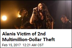 Thieves Steal $2M From Alanis Home