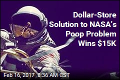 Dollar-Store Solution to NASA's Poop Problem Wins $15K