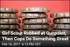 Girl Scout Robbed at Gunpoint, Then Cops Do Something Great