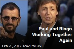 Paul and Ringo Working Together Again