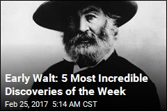 Early Walt: 5 Most Incredible Discoveries of the Week