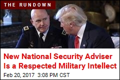 Trump Names General as National Security Adviser