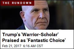 Trump Wins Praise for Choosing 'Warrior-Scholar'