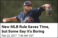 MLB Just Figured Out How to Save 14.3 Seconds per Game