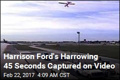 Video Surfaces of Harrison Ford's Airport Near-Miss