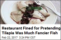 Restaurant Fined for Duping Customers With Cheap Fish
