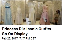 Princess Di's Iconic Outfits Go On Display