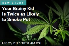 Brainy Teens Twice as Likely to Drink, Smoke Pot