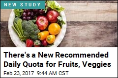 Mastered 5 Fruits and Veggies a Day? Now Go for 10