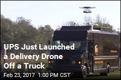 UPS Just Launched a Delivery Drone Off a Truck