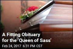 A Fitting (and NSFW) Obituary for the 'Queen of Sass'