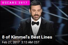 8 of Kimmel's Best Lines