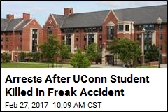 Arrests After UConn Student Killed in Freak Accident