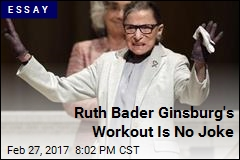 Ruth Bader Ginsburg's Workout Is No Joke