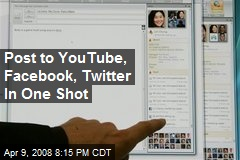 Post to YouTube, Facebook, Twitter In One Shot