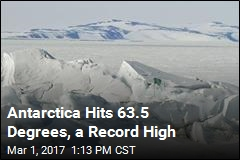 Antarctica Hits a New Record High Temperature