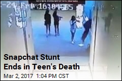 Snapchat Stunt Ends in Teen's Death
