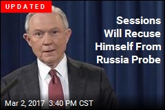 Sessions Will Recuse Himself From Russia Probe